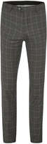 Oxford Hopkins Wool Suit Trousers Gry X