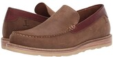 Lucchese After-Ride Slip-On Moccasin (Olive Comanche Suede) Men's Shoes