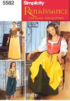 Simplicity Sewing Pattern 5582 Misses' Costumes