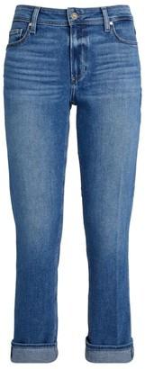 Paige Brigitte Straight Roll-Up Jeans
