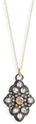 Armenta Old World Diamond Pave Pendant Necklace