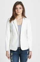 Vince Camuto Women's Stretch Cotton One-Button Blazer
