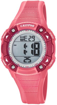 Calypso Unisex-Child Digital Quartz Watch with Plastic Strap K5728/2