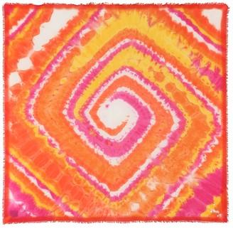 Loewe Paulas Ibiza tie-dye scarf