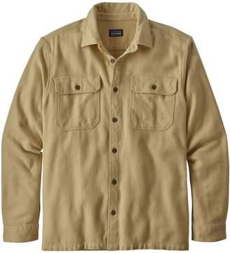 Patagonia Men's Long-Sleeved Natural Dye Fjord Flannel Shirt
