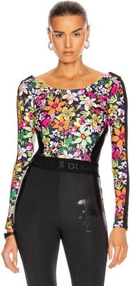 Dundas for FWRD Bodysuit in Floral Print | FWRD