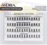 Andrea Lashes Stacked Individuals Short Black