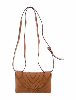 Elena Ghisellini Felina Funny Leather Convertible Bag Brown
