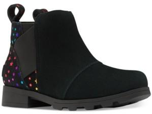 Sorel Girls Emelie Chelsea Booties Women's Shoes