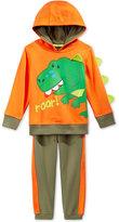 Nannette Baby Boys' 2-Pc. Dino Roar Hoodie & Pants Set