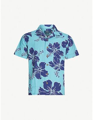Polo Ralph Lauren Hawaiian-print slim-fit cotton shirt