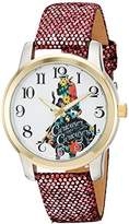 Disney Alice In Wonderland Women's W002900 Alice in Wonderland Analog Display Analog Quartz Watch
