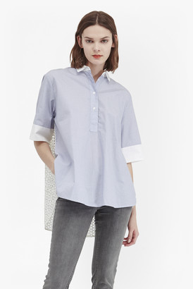 French Connection Kyra Cotton Oversized Shirt