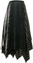 Antonio Marras asymmetric pleat skirt - women - Polyester - 42