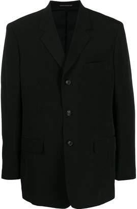 Yohji Yamamoto oversized blazer