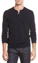 Bonobos Cashmere Henley Sweater
