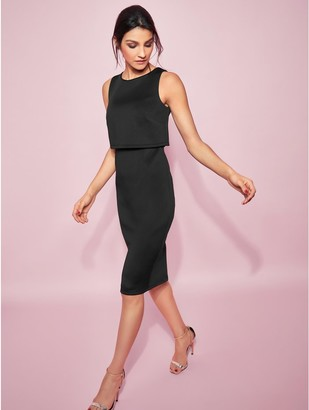 M&Co GLAMOUR overlay pencil dress