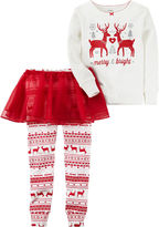 Carter's 3-pc. Pajama Set Girls