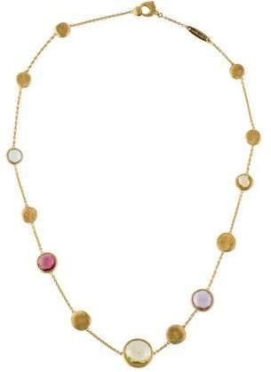 Marco Bicego 18K Multistone Jaipur Necklace