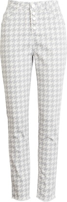 Wit & Wisdom Ab-Solution High Waist Frayed Ankle Pants