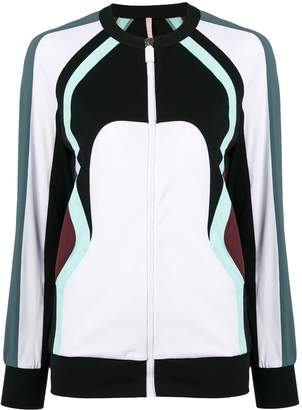 NO KA 'OI Colour Block Zip Jacket
