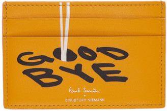 Paul Smith and Christoph Niemann Yellow Hello Card Holder