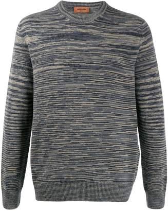 Missoni stripe patterned jumper