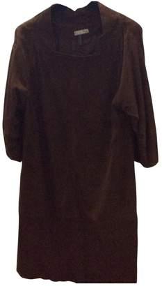 Hoss Intropia Brown Suede Dress for Women