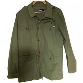 Mother Green Cotton Jacket for Women