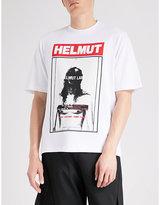 Helmut Lang Hans Tall cotton-jersey T-shirt
