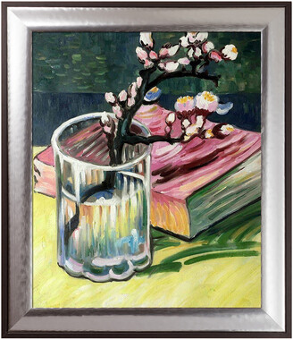 Overstock Art La Pastiche By Overstockart Blossoming Almond Branch In A Glass