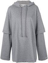 Juun.J oversized printed hoodie