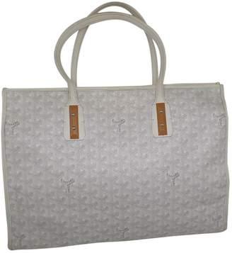 Goyard Marquises White Cloth Handbags