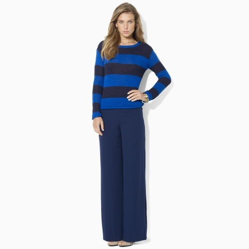 Ralph Lauren Striped Crewneck Sweater