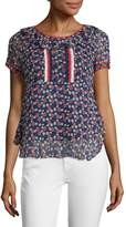 Anna Sui Women's Daisy Cot Star Blouse