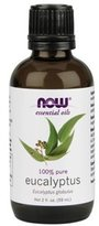 NOW 100% Pure Eucalyptus Oil 2 oz 8154562