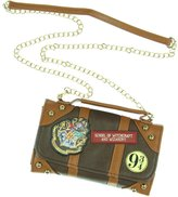 Bioworld Official Harry Potter Inside Out Crossbody Clutch Purse with Strap - Small Bag