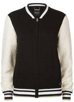 Juicy Couture Embellished Eagle Varsity Jacket
