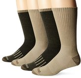 Dickies Men's 4 Pack Stripe Assortment Crew Socks