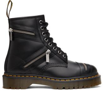 Dr. Martens Black 1460 Bex Zip Boots