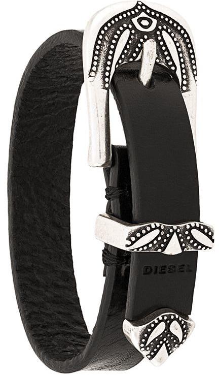 Diesel Western Buckle Bracelet