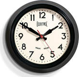 Newgate Small Electric Clock - Black