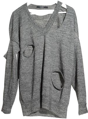 Limi Feu Grey Wool Knitwear for Women