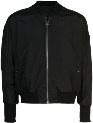 Julius Fitted Bomber Jacket