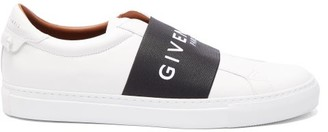 Givenchy Urban Street Low Top Leather Trainers - Mens - White Black