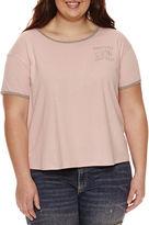 Fifth Sun Short Sleeve Scoop Neck Graphic T-Shirt