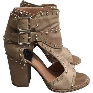 Laurence Dacade Beige Leather Sandals