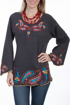 Scully Embroidered Knit Tunic
