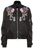 Alexander McQueen Embellished bomber jacket
