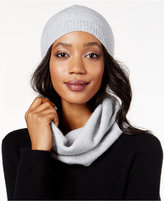 Charter Club Cashmere Sequined Hat & Infinity Scarf Set, Only at Macy's